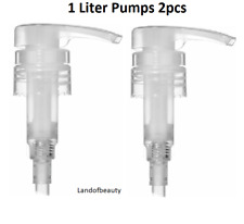 2pcs Pump for 1 liter (33.8oz) Bottles for Lotion,Shampoo, Conditioner  by wella