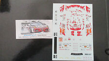 DECAL FERRARI F430 GT2 24H LE MANS 2011 #83 TEAM JMB RACING BBR 1/43 BBRC67