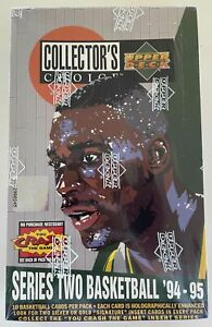 1994-95 Upper Deck Collector's Choice Basketball Series 2 Special Edition Box