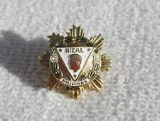 Medal Philippines Rizal Order Knights Officer Miniature An Pin