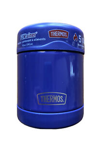 10oz Purple Thermos (Stays Hot For 5 Hours And Cold For 7) NEW