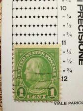 Usa stamps 1c Franklin verde chiaro