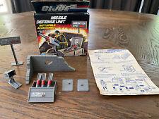 Vintage GI JOE 1984 Missle Defense Unit, Complete With Box!!
