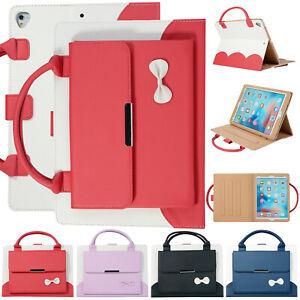 "For iPad Pro 11""12.9"" 10.5"" 9.7"" 10.9"" 10.2"" Smart Leather Handbag Case Cover"