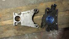 Yamaha r1 rear brake caliper  custom streetfighter  project  blue spot