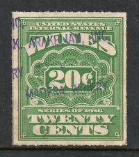 Scott # RE69, Used, F-VF, 20¢ Wines, K. Arkelian, Inc., Madera Winery