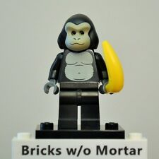 New Genuine LEGO Gorilla Suit Guy Minifig and Banana Series 3 8803