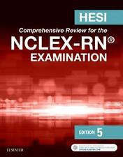 NEW - HESI Comprehensive Review for the NCLEX-RN Examination, 5e by HESI