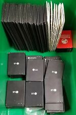 Lot of 114 Lg V10 Accessories Oem - 64 Batteries 50 Back Covers - Good Condition
