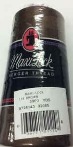 MAXI-LOCK SERGER THREAD- 3000 YARDS- 40W--YOUR CHOICE OF COLOR