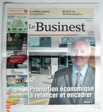 JOURNAL RÉGIONAL LE BUSINEST DE OCTOBRE 2013