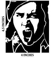 SAM KINISON Sticker BLACK Cut Vinyl Decal