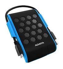 2TB AData HD720 Waterproof Shockproof USB3.0 Portable 2.5-inch HDD - Blue/Black