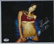 AMANDA BEARD AUTO AUTOGRAPH SIGNED 8X10 PHOTO PSA PSA/DNA