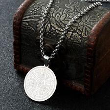 Silver Archangel Seals Of The Seven Archangels Key Of Solomon Pendant Necklace