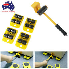 5 In 1 Moving Heavy Object Handling Tool Furniture Lifter Heavy Mover Rollers AU
