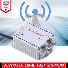 2-Way Digital CATV Signal Booster TV VCR Satellite Antenna Amplifier Splitter AU