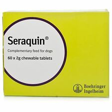 Seraquin Joint Support Supplement for Dogs - 2g x 60 Tablets