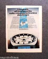 P325 - Advertising Pubblicità -1972- LONGINES