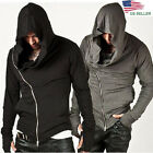 Fashion Men's Hooded Zipper Sweatshirt Pullover Hoodies Tops S-2XL US STOCK