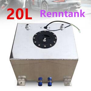 20 Liter Aluminium Kraftstofftank Alu Renntank Fuel Motorsport Benzin Tank DE