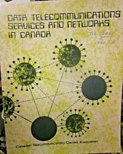 Book - Data Telecommunications Services & Networks In Canada - 1975