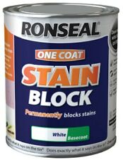 Ronseal One Coat Stain Block 750ml White