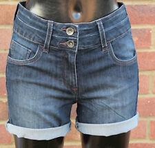 Next Lift, Slim And Shape, Dark Blue Denim Short SIZE 6  RRP £26