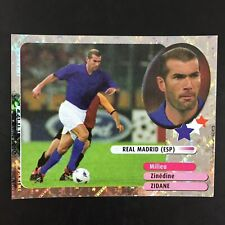 Zinedine Zidane Foil Sticker Panini Foot 2003 / Real Madrid