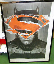 BATMAN VS SUPERMAN POSTER COLLECTABLE  MARVEL DC COMICS LIMITED PRODUCTION RUN