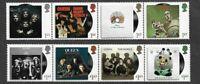 Queen-2020 Freddie Mercury -postage stamp set-Great Britain-Rock Music