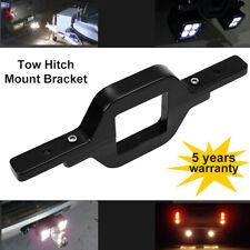 Tailer Tow Hitch Mount Bracket Reverse Backup LED Light Bar Cube Pods SUV Truck