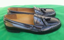 Men's Cole Haan D03506 Black Leather Loafers Size 11