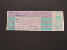 BONNIE RAITT UNUSED CONCERT TICKET/STUB 6-7-95 GREAT WOODS PERFORMING ARTS CTR