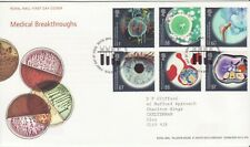 GB Stamps First Day Cover Medical Breakthrough, science,drugs SHS Test Tube 2010