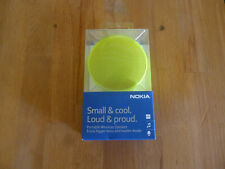 Nokia MD-12 Yellow Rechargeable Bluetooth and NFC Wireless Portable Mini Speaker