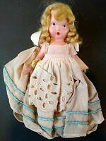 "#28 GOLDILOCKS Nancy Ann Storybook Doll  Bisque 5.5"" With Tag"