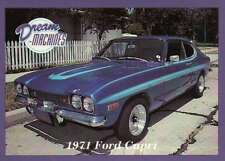 1971 Ford Capri, Dream Machines, Cars, Automobile Trading Card - Not Postcard