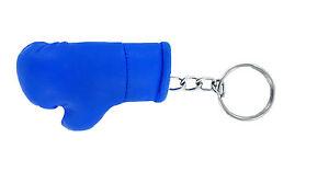 Schlüsselanhänger keyring flagge fahne flaggen ring boxhandschuhe BLAU REF2