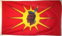 MOHAWK/OKA NATIVE 3ft x 5ft BANNER/FLAG HIGH QUALITY 100% POLYESTER