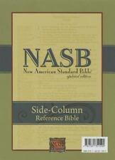 NASB Side-Column Reference Wide Margin Bible : 1995 Edition (Black, Genuine Leat