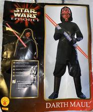 Vtg Child Sz 5-7 Star Wars Episode 1 Darth Maul Halloween Costume