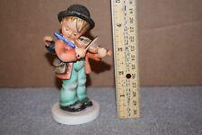Vintage Goebel M.I. Hummel Figurine Little Fiddler Hum #4 Tmk6