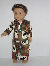 "Animals/Plaid Pajamas 18"" Doll Clothes American Girl"