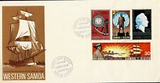 SAMOA - 1970 CAPTAIN COOK FIRST DAY COVER - USED - W 341
