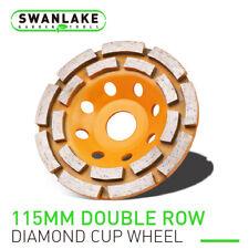 "4.5"" Diamond Grinding Cup Wheel Double Row Concrete Angle Grinder 18 segments"