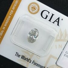 1.50ct Natural Loose Diamond- Light Gray -Oval Brilliant-GIA Cert