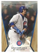 "2017 Topps On Demand ""Chasing 600"" #16 Kyle Schwarber Chicago Cubs ONLINE ONLY"
