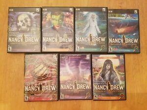 Nancy Drew PC Mystery Games - Lot of 7, Games: 17, 18, 19, 20, 21, 22, 23