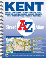 Kent Street Atlas by A-Z Maps (Spiral 2016)